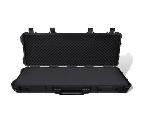 Waterproof Plastic Molded Gun Case Trolly Carry Case[3/9]
