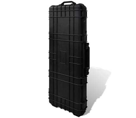 Waterproof Plastic Molded Gun Case Trolly Carry Case[8/9]