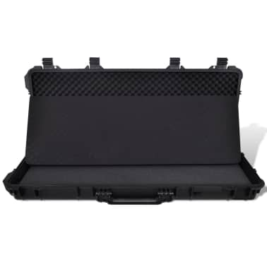 Waterproof Plastic Molded Gun Case Trolly Carry Case[5/9]