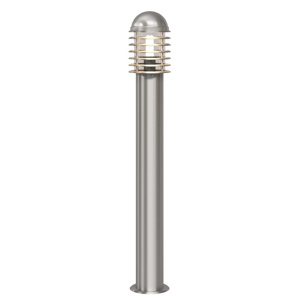 Cilindervormige RVS LED tuinlamp