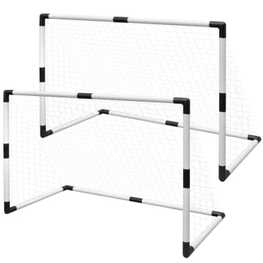 Set de but de football poteau et filet 91,5 x 48 x 61 cm[1/5]