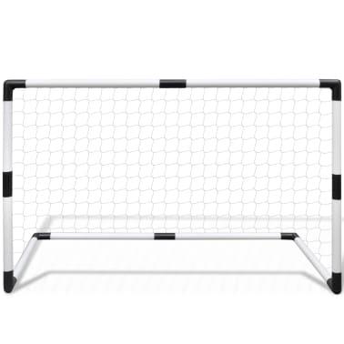 Minifotbollsmål 2-pack för barn 91,5x48x61cm[3/5]