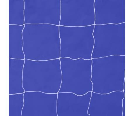 Poartă de fotbal din oțel cu țintă 240 x 92 x 150 cm[5/5]