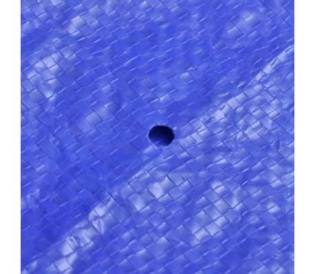 vidaXL Baseino uždangalas, PE, apvalus, 300 cm, 90 g/m²[6/6]