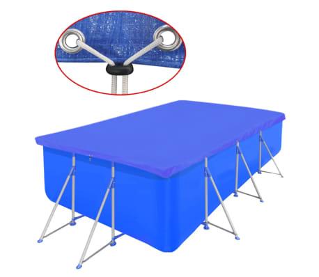 Obdĺžniková bazénová plachta z polyetylénu 90 g/m2 394 x 207 cm[1/5]