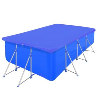 Obdĺžniková bazénová plachta z polyetylénu 90 g/m2 394 x 207 cm[2/5]