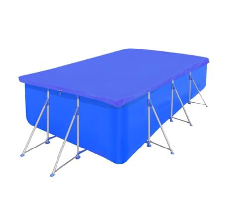 Obdĺžniková bazénová plachta z polyetylénu 90 g/m2 400 x 207 cm[2/5]