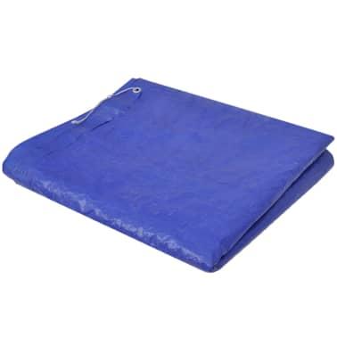 Obdĺžniková bazénová plachta z polyetylénu 90 g/m2 400 x 207 cm[3/5]