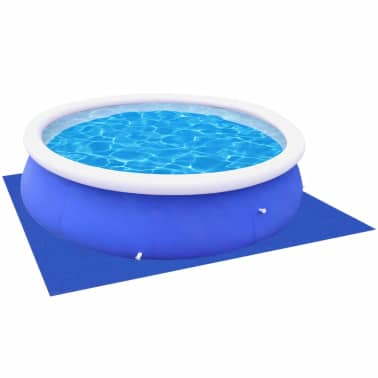 Vidaxl Pool Ground Cloth Sheet For Round Pools 9