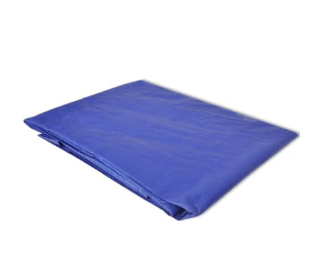 "vidaXL Pool Ground Cloth/ Sheet for Round Pools 14' 8"" / 15'[2/3]"
