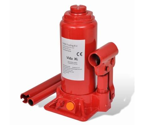 vidaXL Cric hydraulique pour voitures 5 tonnes Rouge[1/6]