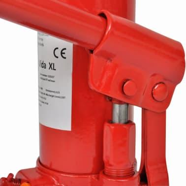 vidaXL Cric hydraulique pour voitures 5 tonnes Rouge[4/6]