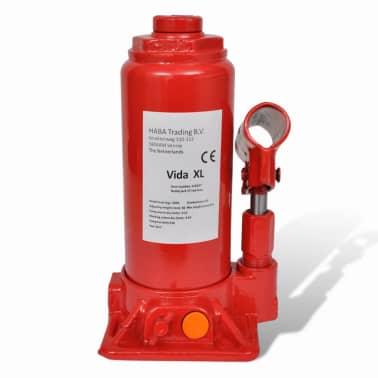 vidaXL Cric hydraulique pour voitures 5 tonnes Rouge[5/6]