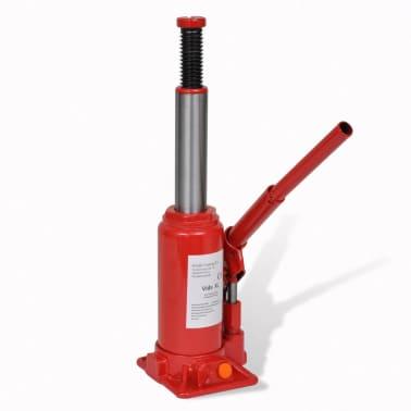 vidaXL Cric hydraulique pour voitures 5 tonnes Rouge[6/6]
