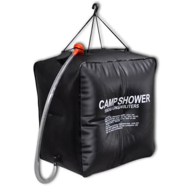 Camp Shower Solar Shower Outdoor Bath 10 gal lqd[1/4]