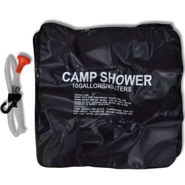 Camp Shower Solar Shower Outdoor Bath 10 gal lqd[2/4]
