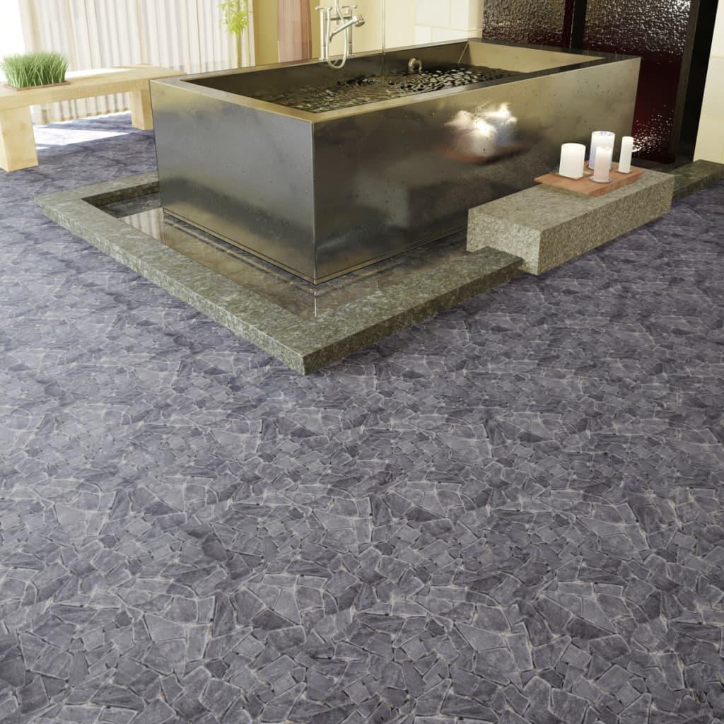 Dale de marmură mozaic1,8 mp, Negru poza 2021 vidaXL