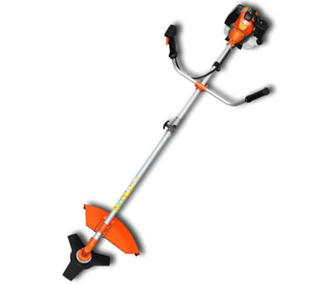 vidaXL Brush Cutter Grass Trimmer 51.7 cc Orange 2.2 kW[1/6]