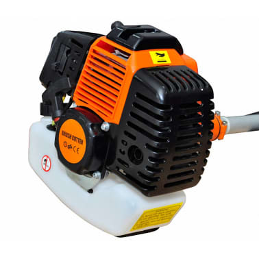 vidaXL Brush Cutter Grass Trimmer 51.7 cc Orange 2.2 kW[2/6]