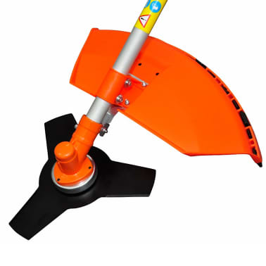 vidaXL Brush Cutter Grass Trimmer 51.7 cc Orange 2.2 kW[3/6]