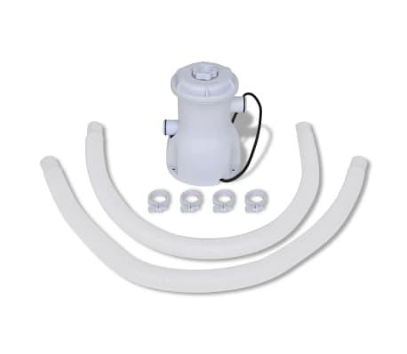 Filtračné čerpadlo do bazéna / kartušová filtrácia 300 gal/hod[5/10]