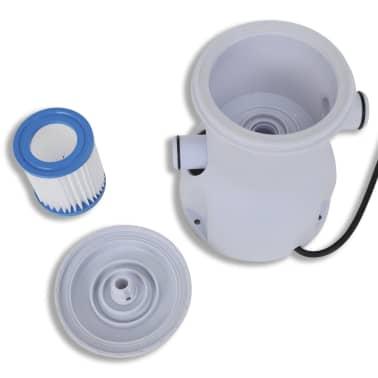 Filtračné čerpadlo do bazéna / kartušová filtrácia 300 gal/hod[6/10]