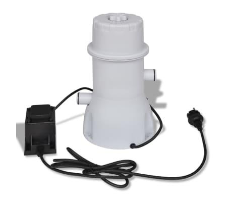 Filtračné čerpadlo do bazéna / kartušová filtrácia 1000 gal/hod[2/10]