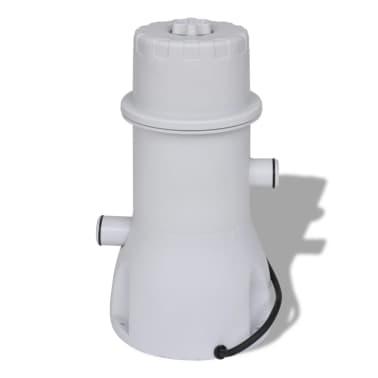 Filtračné čerpadlo do bazéna / kartušová filtrácia 1000 gal/hod[4/10]