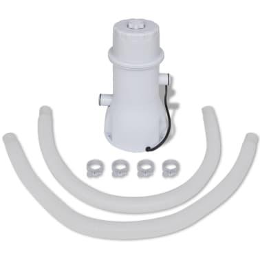 Filtračné čerpadlo do bazéna / kartušová filtrácia 1000 gal/hod[7/10]
