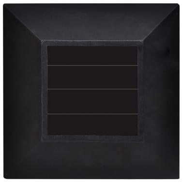 vidaXL Utendørs solcellelampesett 12 stk med jordspyd 8,6x8,6x38 cm[6/6]