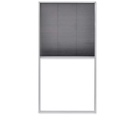 "vidaXL Plisse Insect Screen Window 63""x31.5""[2/6]"