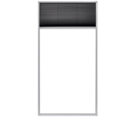 "vidaXL Plisse Insect Screen Window 63""x31.5""[6/6]"