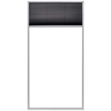 vidaXL Plisse Insect Screen Window 160 x 80 cm[6/6]