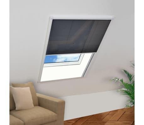 acheter vidaxl moustiquaire pliss e pour fen tre 160 x 110 cm pas cher. Black Bedroom Furniture Sets. Home Design Ideas