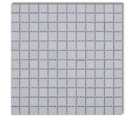 X Glass Mosaik Fliesen Blauweiß Qm Günstig Kaufen VidaXLde - Günstig mosaik fliesen kaufen