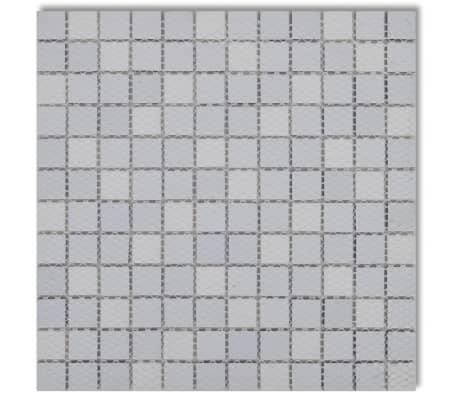 20x glass mosaik fliesen schwarz wei grau 1 8 qm g nstig kaufen. Black Bedroom Furniture Sets. Home Design Ideas