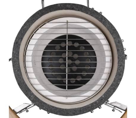 Kamado barbecue grill smoker keramisch 76 cm[5/8]