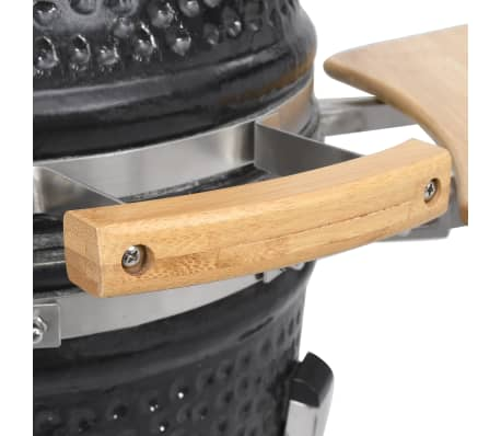 Kamado barbecue grill smoker keramisch 76 cm[6/8]