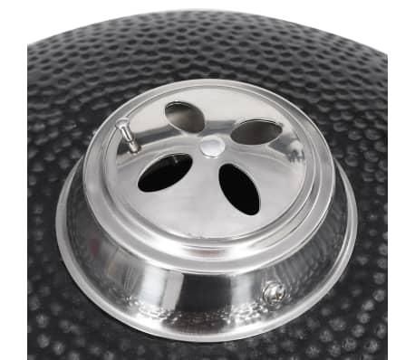 Kamado barbecue grill smoker keramisch 76 cm[7/8]