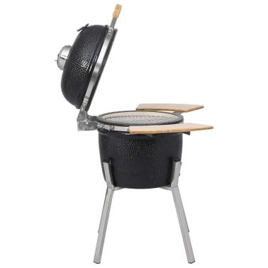 Kamado barbecue grill smoker keramisch 76 cm[4/8]