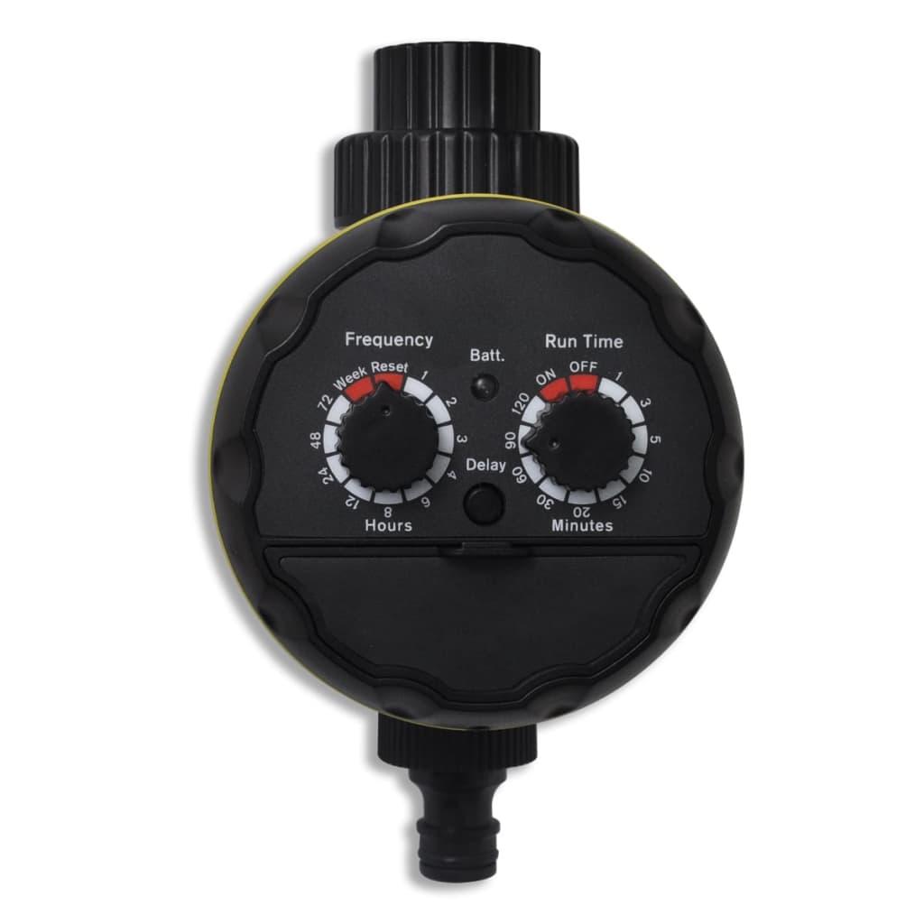 vidaXL Elektrische Irrigatie Water timer (1 uitgang)