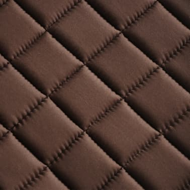"vidaXL Horse Riding Saddle Set 16"" Real Leather Brown 5.5"" 5-in-1[10/10]"