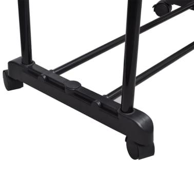 vidaXL Perchero ajustable para ropa 2 barras 2 unidades[4/7]