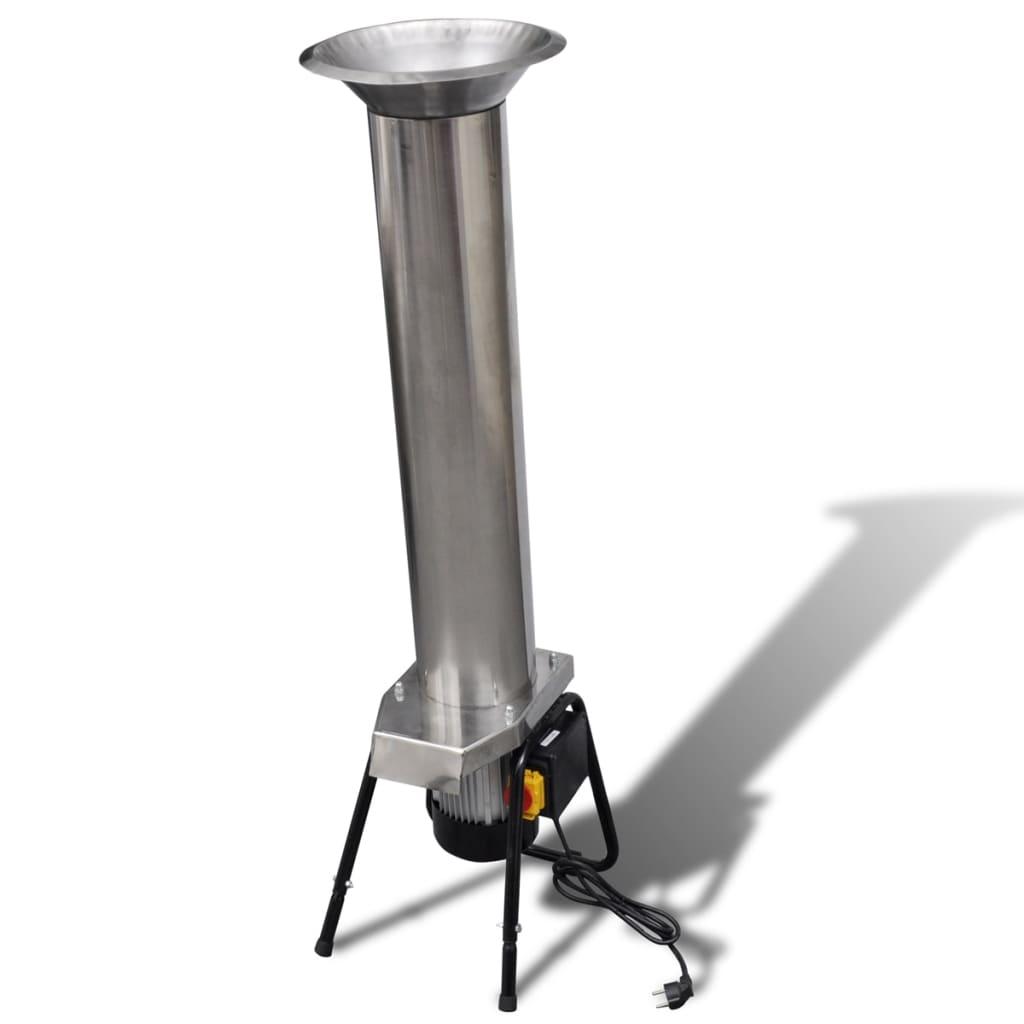 Zdrobitor fructe electric din oțel inoxidabil vidaxl.ro