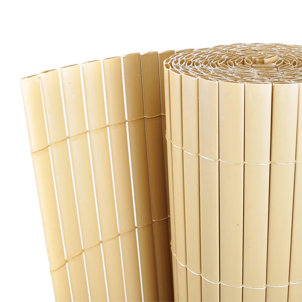 PVC plot oboustranný žlutý 300 x 200 cm, lišty 12 mm