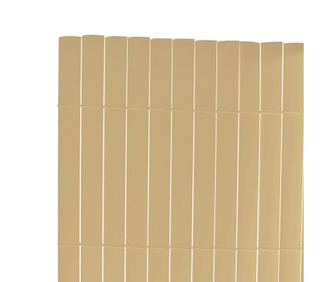 acheter cl ture de jardin pvc jaune double face 500 x 200 cm latte 12 mm pas cher. Black Bedroom Furniture Sets. Home Design Ideas