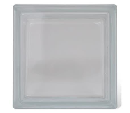 Bloque de vidrio, diseño liso, 12 unidades[2/4]