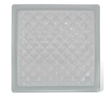 Bloque de vidrio, diseño de rombos, 12 unidades[2/4]