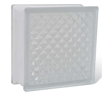 Bloque de vidrio, diseño de rombos, 12 unidades[3/4]