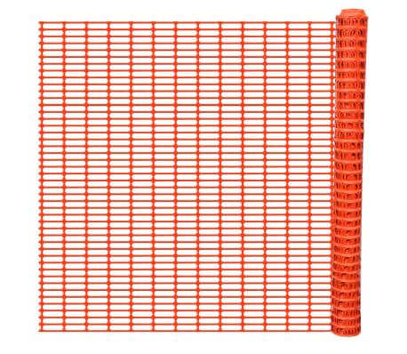 vidaXL Sodo tvora, 50m, oranžinės spalvos